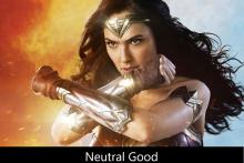 Wonder Woman is an Example of a Neutral Good Character.