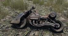 motorcycle, zombie killer, mini bike, A-17