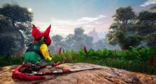 The world of biomutant is massive and open-world for players to lose themselves in
