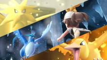 Encounter classic legendary Pokemon like Zapdos, Articuno, and Moltres in Pokemon Let's Go!