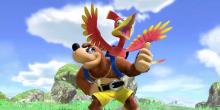 Banjo and Kazooie are getting ready for Smash