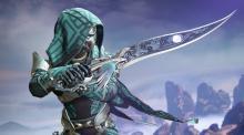 A Hunter with the Black Talon sword
