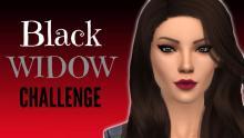<The Sims 4>-<Black Widow Challenge>