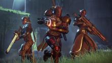 Guardians with their Black Amory weapons