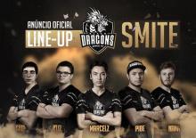 Black Dragons roster for SMITE