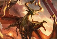 The planeswalker Nicol Bolas is the main antagonist in the MTG Lore
