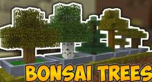 Bonsai Trees is a simple mod that can really brighten up your world