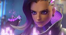 Sombra making her exit in her reveal short