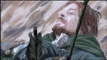 Boromir dies fighting to protect Merry and Pippin.