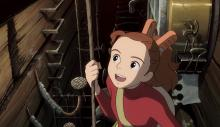 It's a big world for a small girl, Discover the world with a different set of eyes with Arrietty and her family.