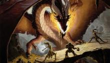 Heroes face down a powerful dragon to bypass their domain