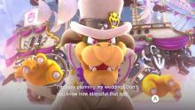 Super Mario Odyssey: Bowser looks really good in a suit.