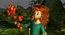 Play as Merida to break the curse placed upon her mother.