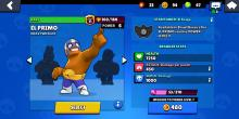Or at least El Primo's one. Cool pose, right?
