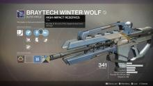 Come in from the cold, and warm up with the Braytech Winter Wolf.