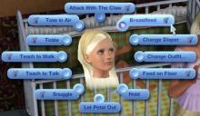 Breastfeeding mods allows Sims 3 to join Sims 4 in the mother's interaction with her child