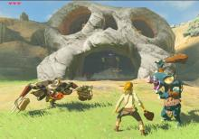 Hyrule is littered with enemies that Link must overcome