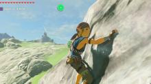 Link can slimb just about anything in Breath of the Wild as long as he has stamina