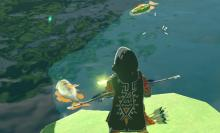 Players don't catch fish with a fishing rod, instead, you can get creative