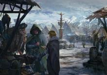 The City of Ten Towns lays far to the north and is at the center point of the Icewind Dale Chronicles.