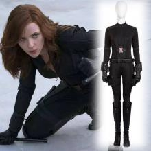 Civil War Black Widow costume front view.