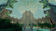 Skyrim meets Minecraft in this incredible build