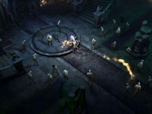 A horde of enemies in Diablo 3.