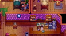 This mod adds a cafe and corresponding NPC's to Pelican Town.