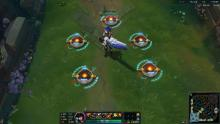 Pulsefire Caitlyn surrounded by her Yordle Traps.