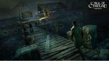 Call of Cthulhu centers around a detective investigating a murder on a mysterious island.