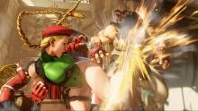 Cammy's Cannon Spike is almost always a good response