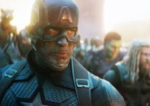Chris Evans plays Captain America in Endgame, assembling the Avengers against Thanos