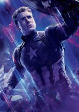 Chris Evans suits up to play Captain America for the final time in the MCU's Avengers: Endgame
