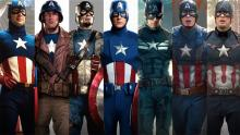 Captain America and his different suits