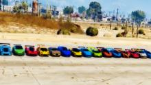 There are a lot of cars to be bought and tested in GTA 5