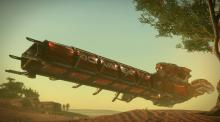 The Drake Caterpillar is the current go-to cargo hauler.