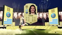 Edinson Cavani would make a great lone striker.