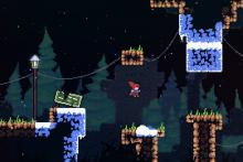 A slick platformer where you overcome mental adversity as much as physical obstacles
