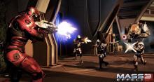 Shepard has to battle the people that brought him back to life in the third Mass Effect game.