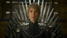 Cersei as Queen and as crazy