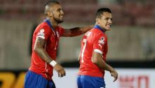 Alexis Sánchez (88) and Arturo Vidal (86) are the best Chile has to offer