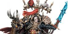 Abaddon the Despoiler is the Warmaster of Chaos. He is the greatest champion of Chaos leading the Black crusade against the Imperium