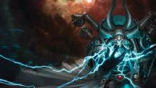 Chaos psykers call on the powers of the Warp to enhance their allies, and crush their enemies