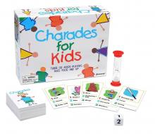 Charades for kids is fun for the children and their parents participating.