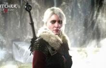 Ciri will press through her journey, no matter the wheather.