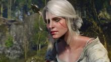 Ciri's beauty is undeniable, just like her fierceness in battle.