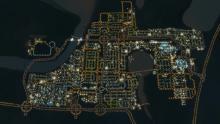Cities Skylines At Night