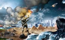 Artwork used in the game and/or marketing materials.