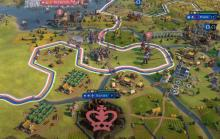 France's culture game allows Eleanor to culture flip one rival city after another