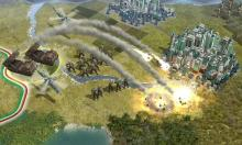Use Siege Weapons to take down cities.